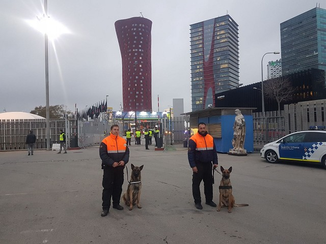 Servicio Canino Mobile World Congress 2018